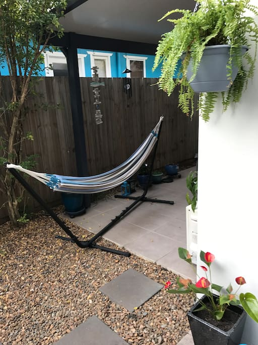 A hammock for relaxing