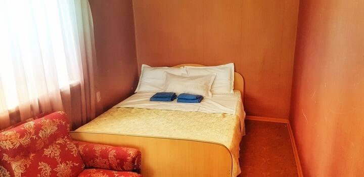 Уютная 2 комнатная квартира в самом центре города