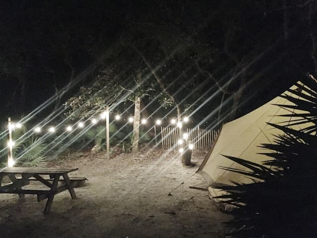 Luxury Camping 30a Topsail Preserve State Park 3
