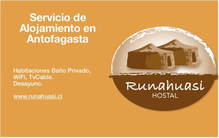 Hostal Runahuasi, un buen lugar para descansar.