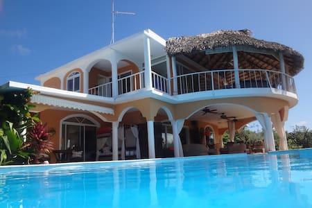Villa Loma  Samana Las galeras - Las Galeras - Villa