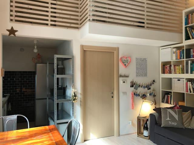 Entrando in casa