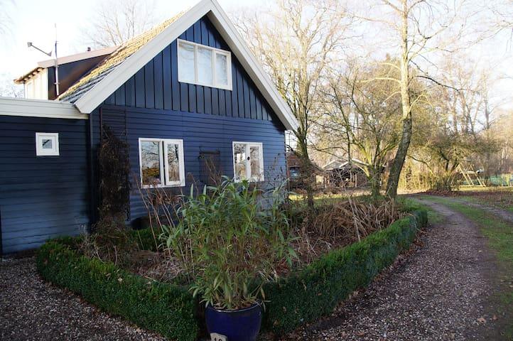 Sfeervolle, vrij en landelijk gelegen woning - Markelo - Hus