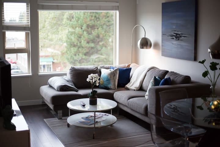 Funky Condo in Central North Vancouver - Severní Vancouver - Byt