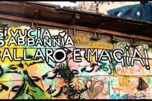 Murales dedicato al Mercato di Ballarò