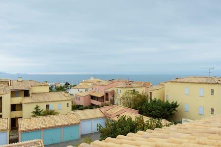 40m2 Terrasse Vue mer à 180°, à 100m de la plage - Sausset-les-Pins - Apartment