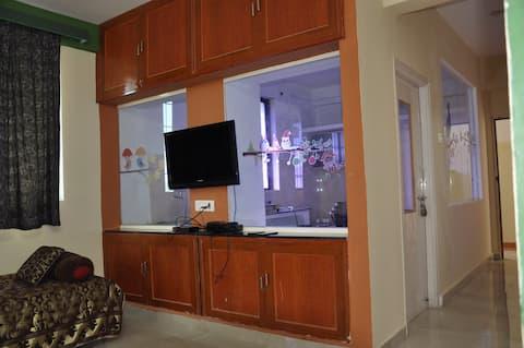 Vidya's 2 BHK Non AC Apartment