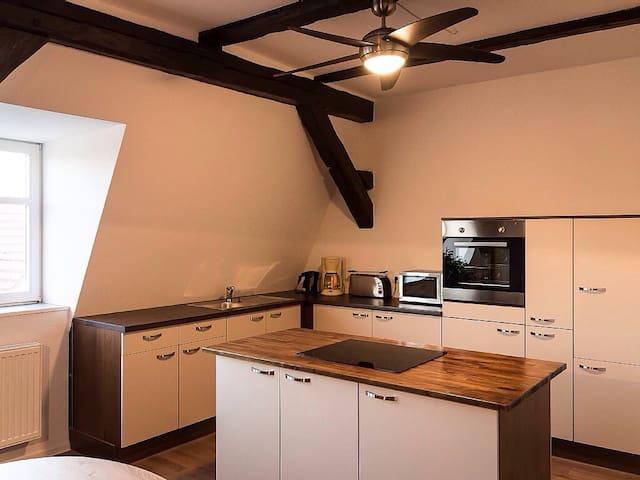 Komfortable Maisonettewohnung 130m² - Hoyerswerda - Departamento