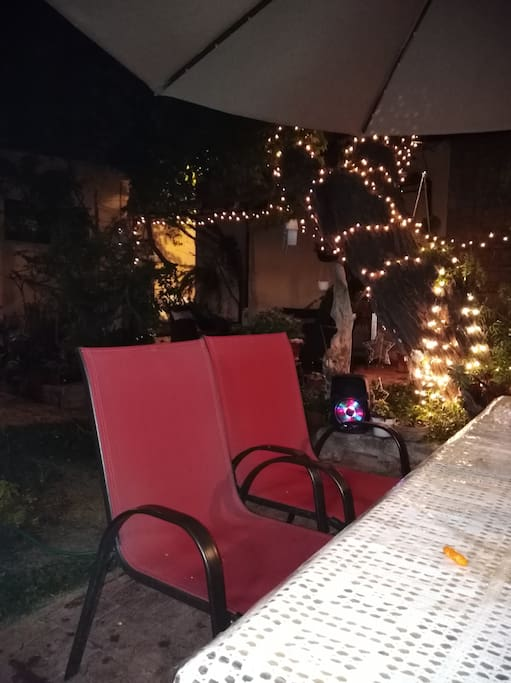 comedor del jardín