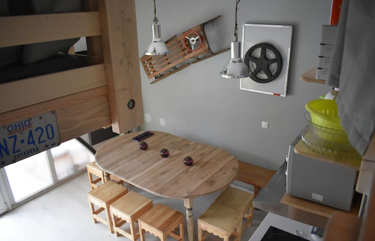 13Apartment at the ski slopes - Fully equipped - Wifi - 30m² - Ground floor