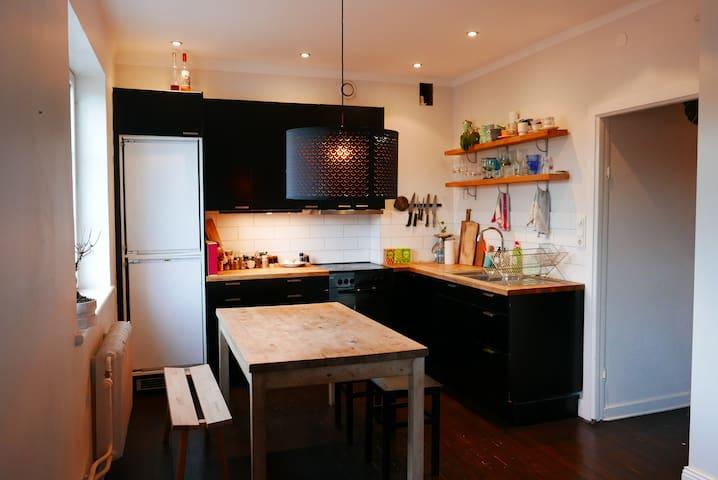 Comfortable apartment in Scandinavian design