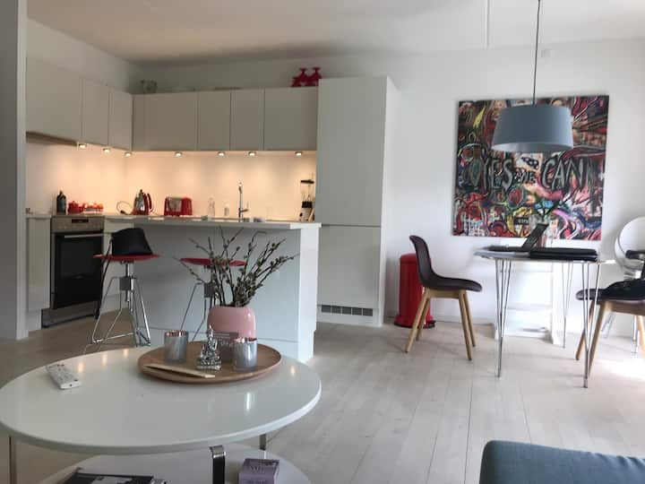 3 rooms in the heart of Hellerup close to the sea