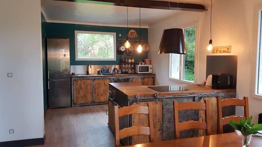 Chambre calme proximité lyon / beaujolais