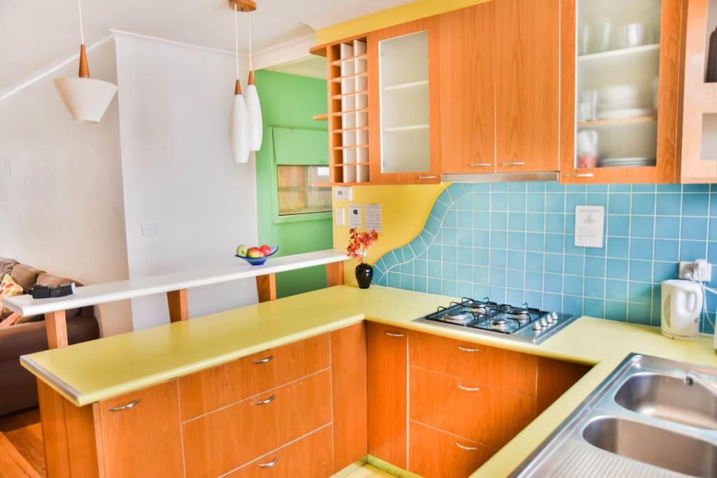 Funky modern kitchen