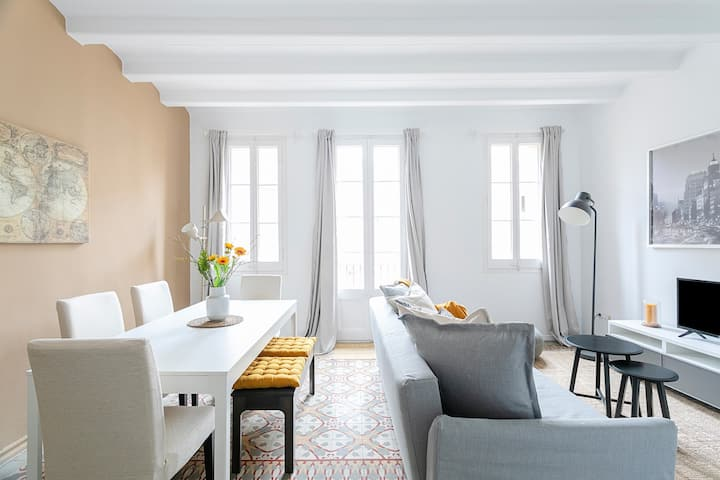 [Hyg. Protocol] Exquisite&historic flat w/ rooftop