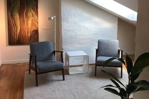 Spaceious 2 floor Scandinavian designed flat