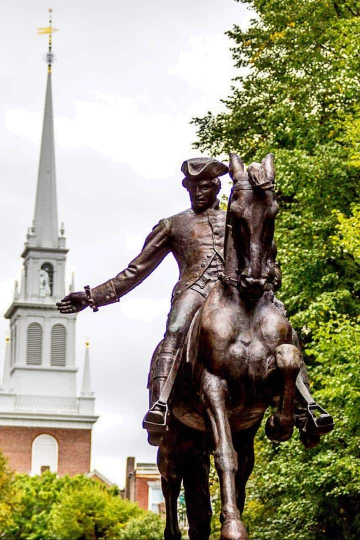 Paul Revere & Old North Church