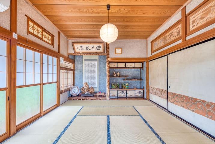 Tatami room Max 3ppl / Abundant Activities!