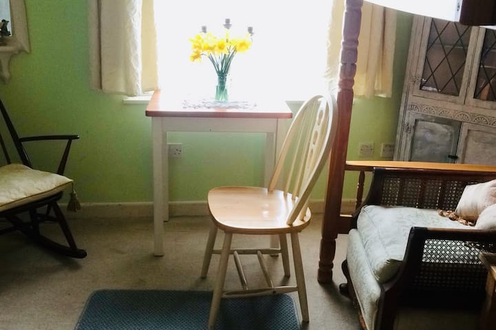 Cosy Room with garden close to high street