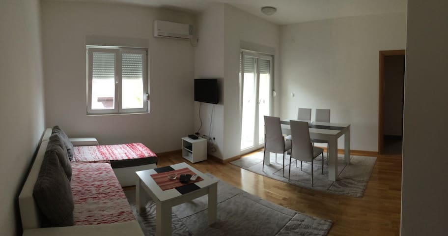 BEAUTIFUL,SUNNY 1/BR APARTMENT - Podgorica - Apartamento