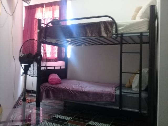Home away from home,  Shared dormitory, NO AC