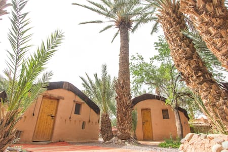 Private berber traditional tent in eart of nature