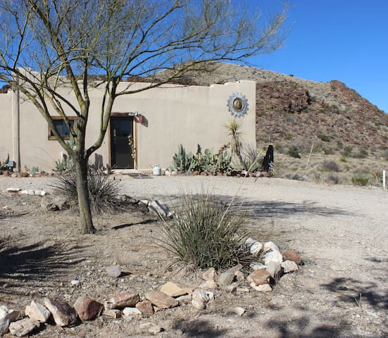 The Adobe at Whitehouse Mountain