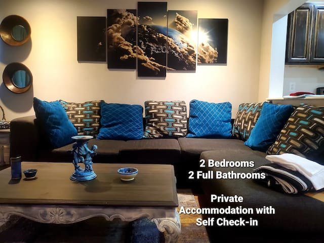 Private Self Check-in Apartment near Midtown