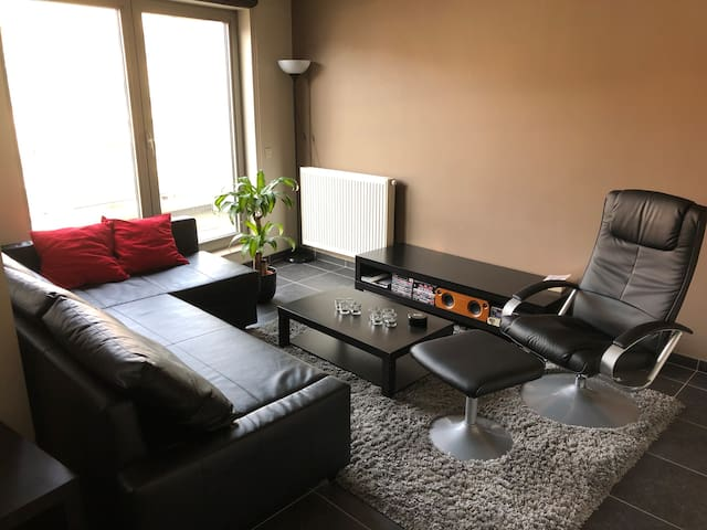 Modern Apartment with Parking in Centre of Ghent
