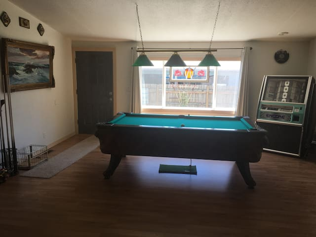 Game Room - Shared space
