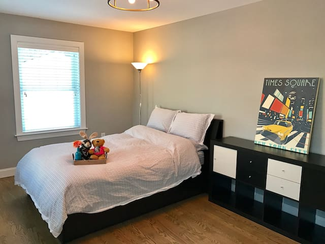 Cozy Modern Private Bedroom with Private Bath - Hingham - Huis