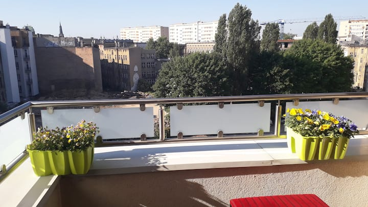 Penthouse with Terrace, Walking Streets 50 meters