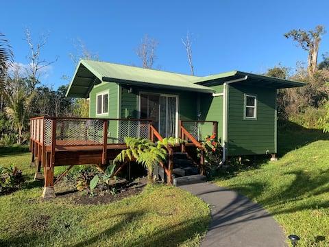 Puna  Rainforest Retreat Hotspring: Grøn bambus