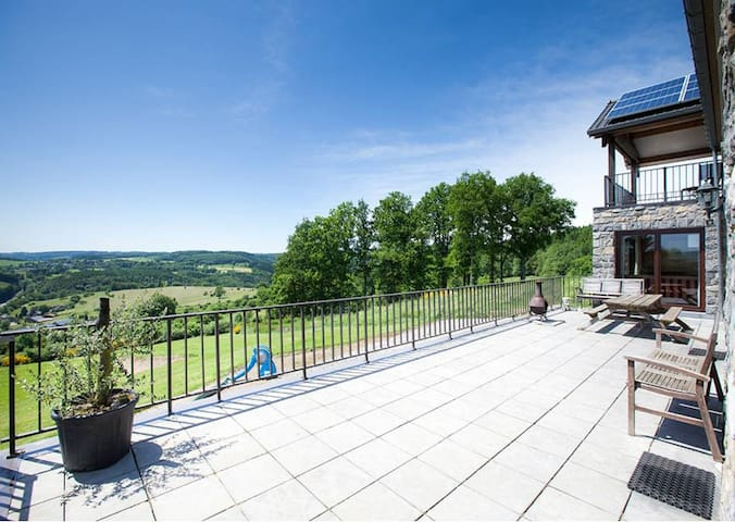 belg ardennen 15 pers. 7/8 pers.andere advertentie - Lierneux - Bungalow