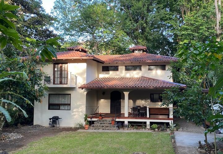 New Luxury Villa nestled in Caribe Beach Jungle
