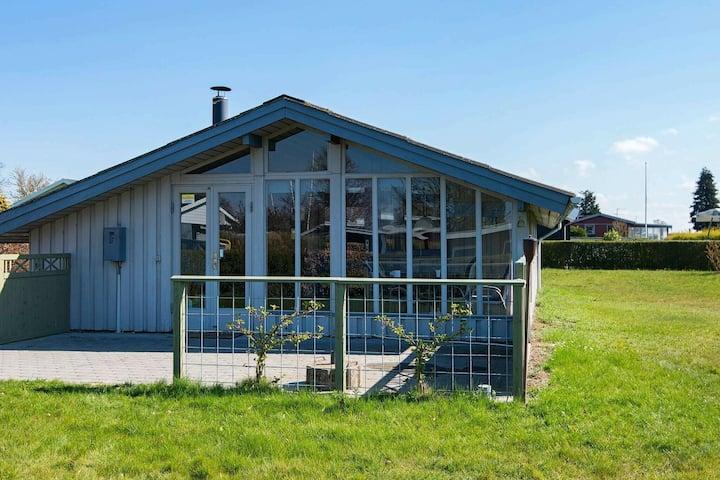 Acogedora casa de vacaciones en Hejls con sauna