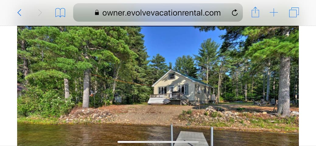 Waterfront house close to Brownville / Millinocket
