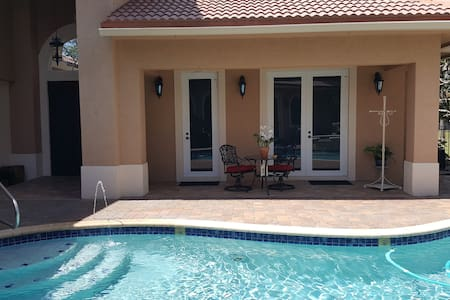 Detached Guest House for 2 - Quiet in the Country - Loxahatchee - Rumah Tamu