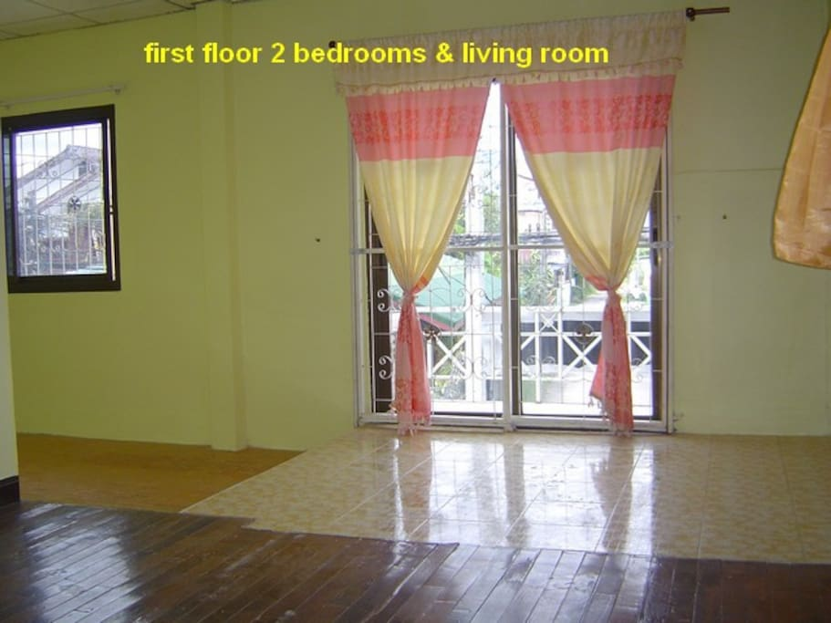 the first floor with balcony