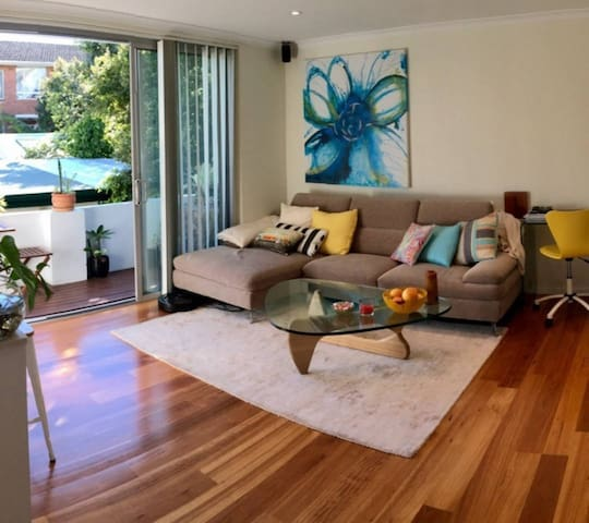 Awesome Manly beach pad! :)