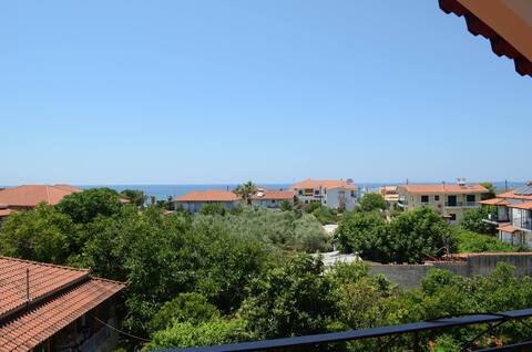 Sunny, recently renovated, with marvelous view!