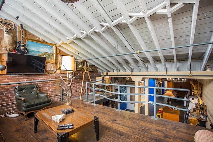art district loft