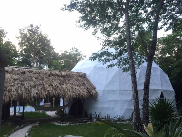 Luxurious DOME in the Mayan jungle - Puerto Morelos - Loft