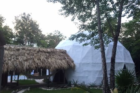 Luxurious DOME in the Mayan jungle - Puerto Morelos