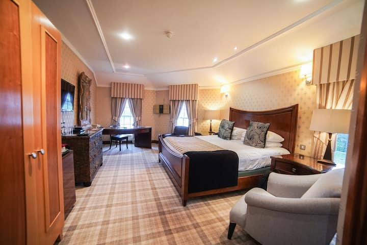 Premier Double Room at Hardwick Hall Hotel