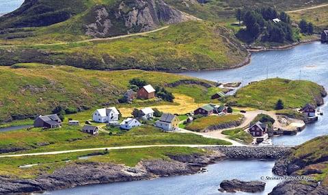 Gjørøybua 1. etasje. | Bulandet langt vest i havet