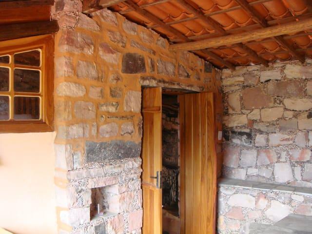 Entrada do quarto principal.