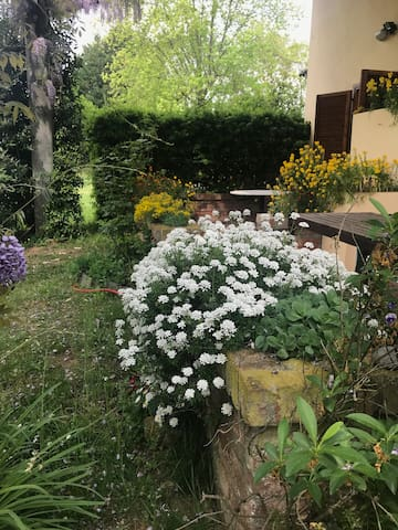 A Margara, la casa nel verde