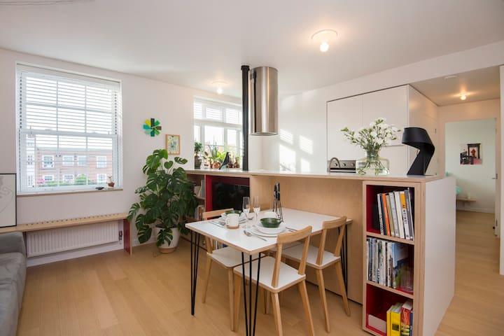 Architect's designed home (1bed-flat) in Hackney - London - Leilighet