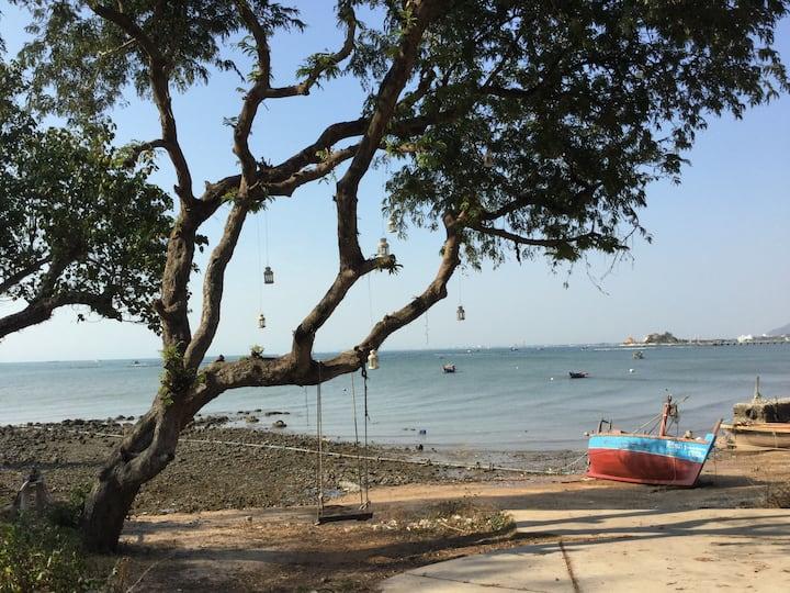 Private beach Condo